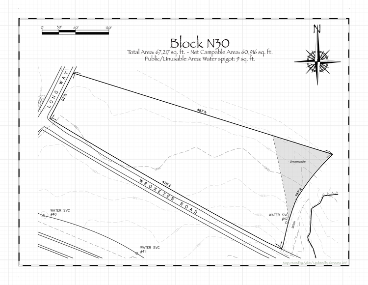 Pennsic 46 Block N30 Map