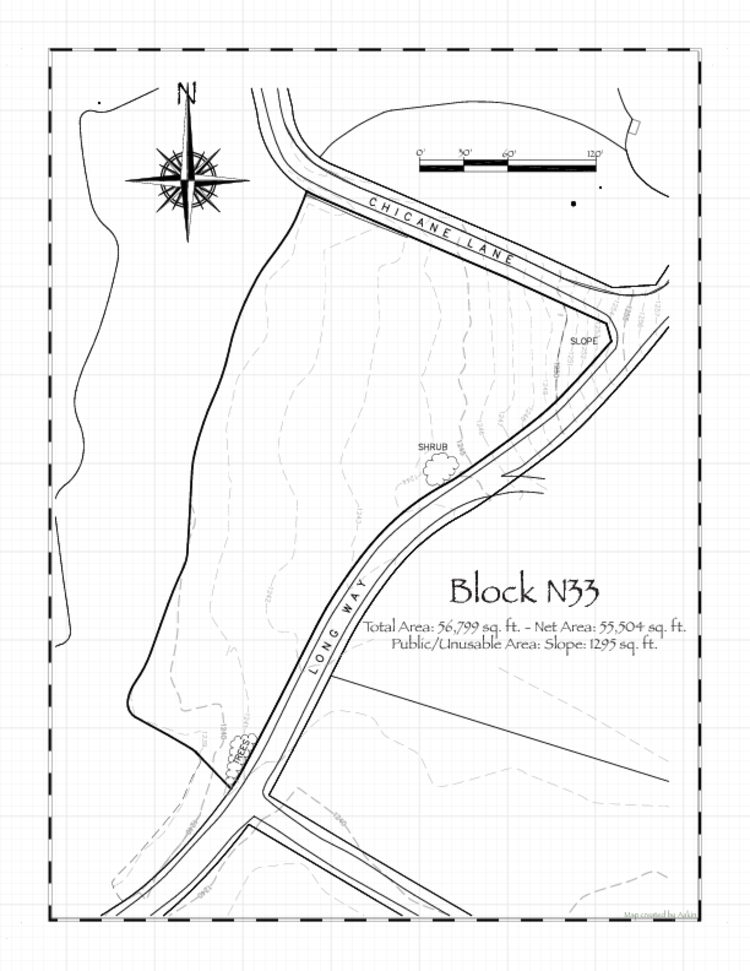 Pennsic 46 Block N33 Map