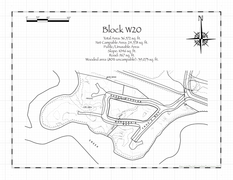 Pennsic 46 Block W20 Map
