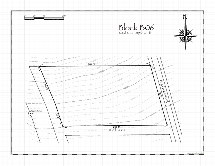 Pennsic 47 Block B06 Map