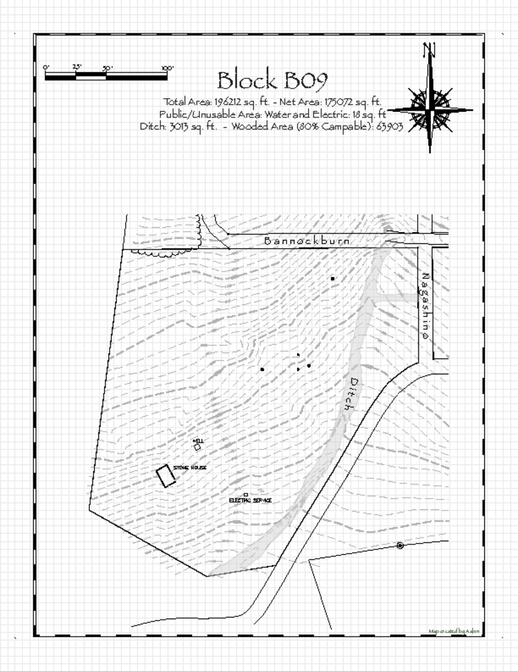 Pennsic 47 Block B09 Map