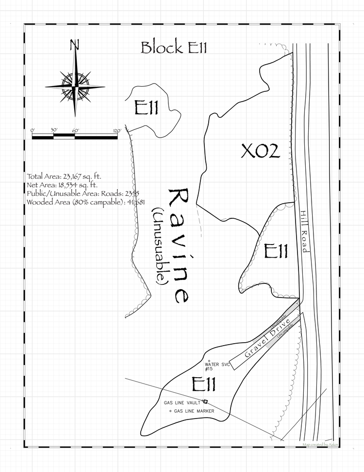 Pennsic 47 Block E11 Map
