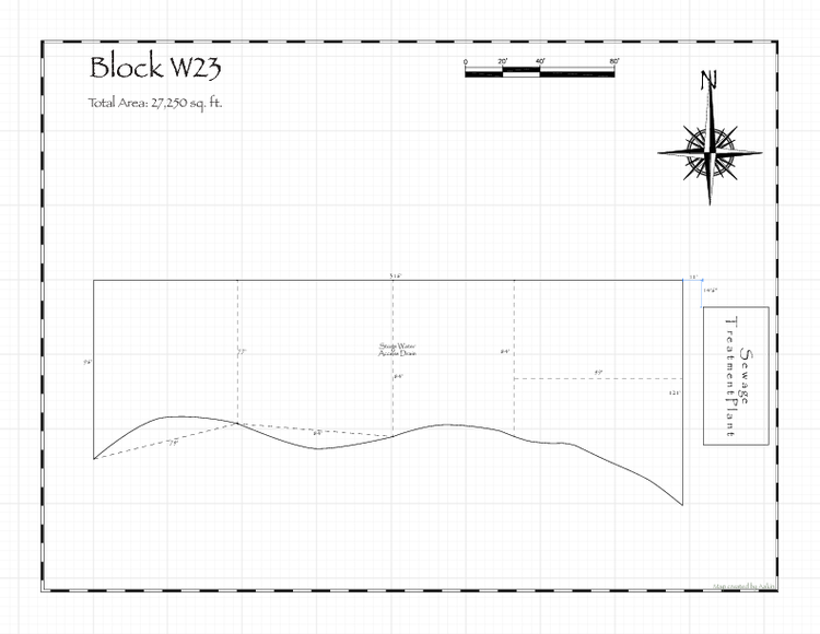 Pennsic 47 Block W23 Map