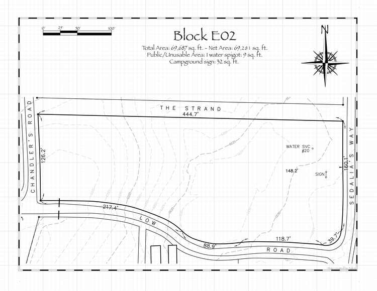 Pennsic 48 Block E02 Map
