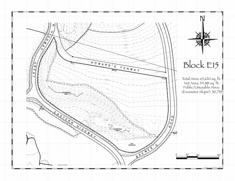 Pennsic 48 Block E15 Map