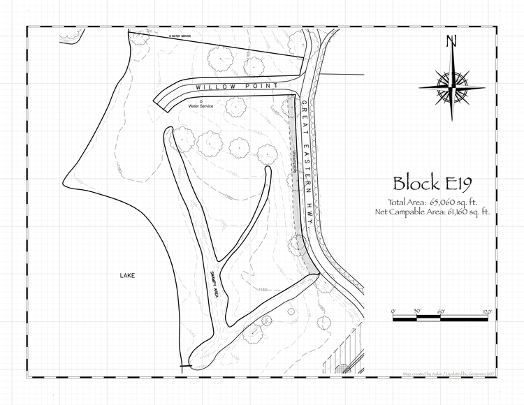 Pennsic 48 Block E19 Map