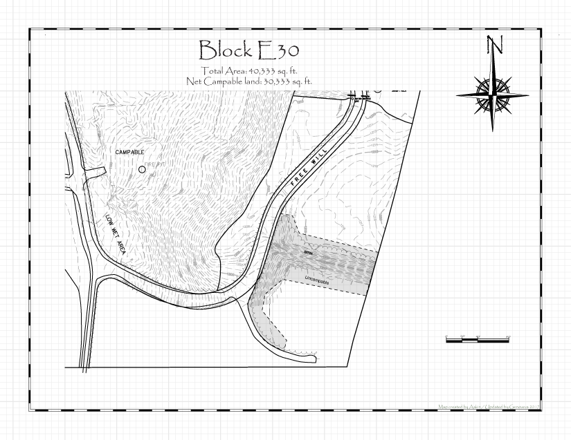 Pennsic 48 Block E30 Map