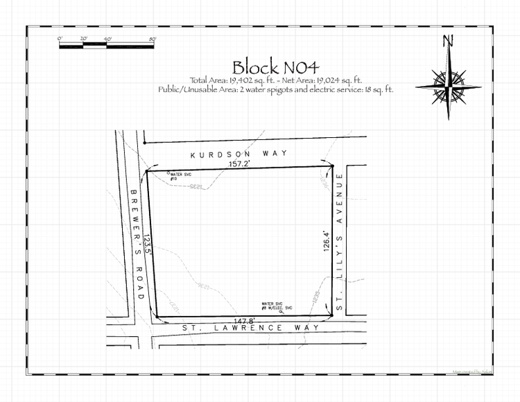 Pennsic 48 Block N04 Map