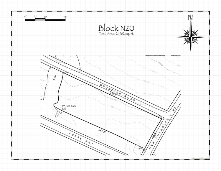Pennsic 48 Block N20 Map