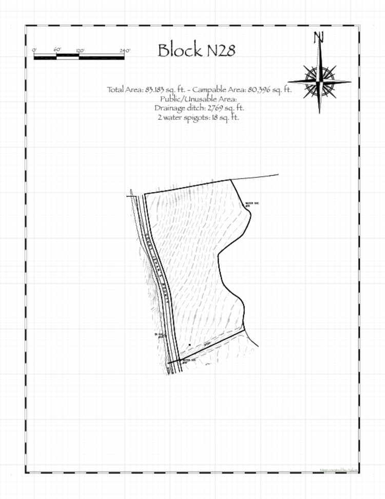 Pennsic 48 Block N28 Map