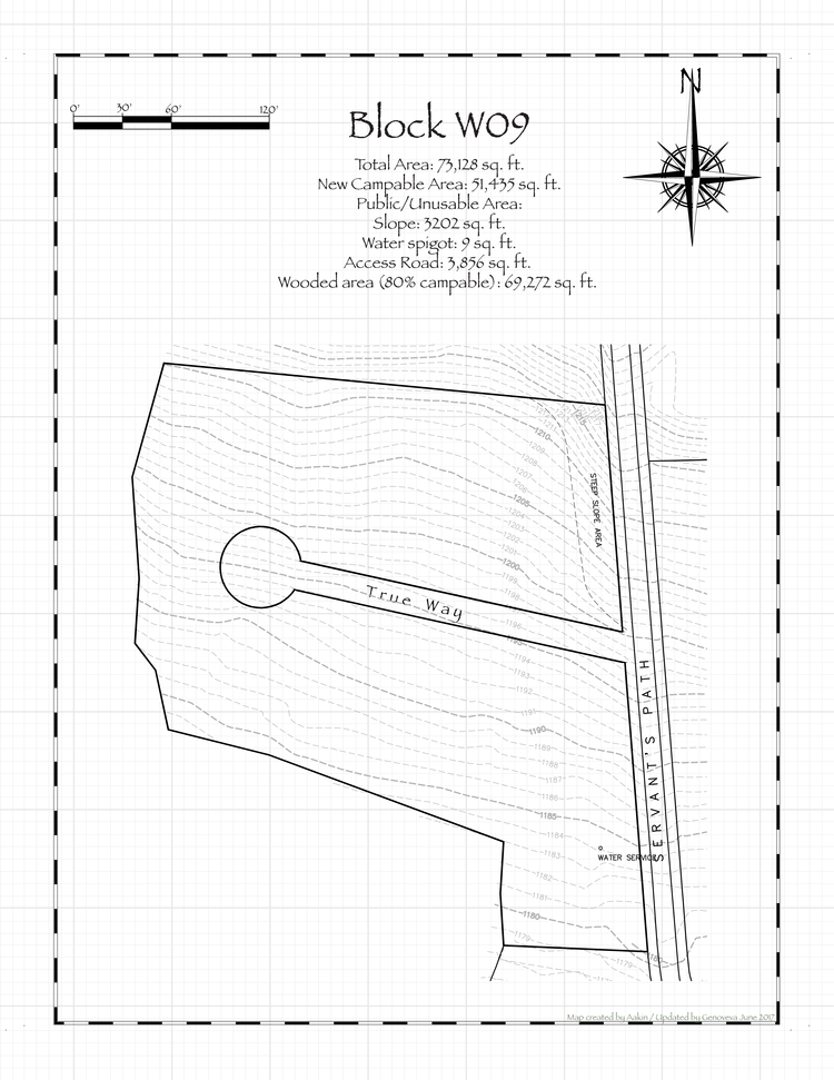 Pennsic 48 Block W09 Map